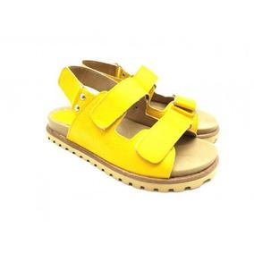 Amarillo Sandalias De En Zapatos Bajas Cerradas Mujer HD2eW9EIYb