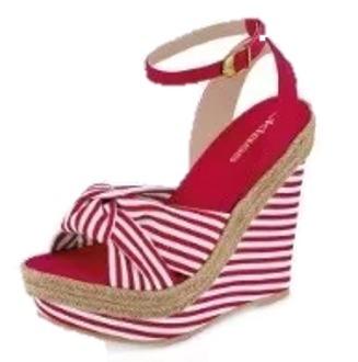 Dama 38 Textil Zapato Sandalia Rojo 647 Cklass 2019 mN08nwvyO