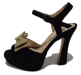 657238464d Zapatos De Razo Con Doble Moño Sandalias Talle 36 - Zapatos de Mujer ...