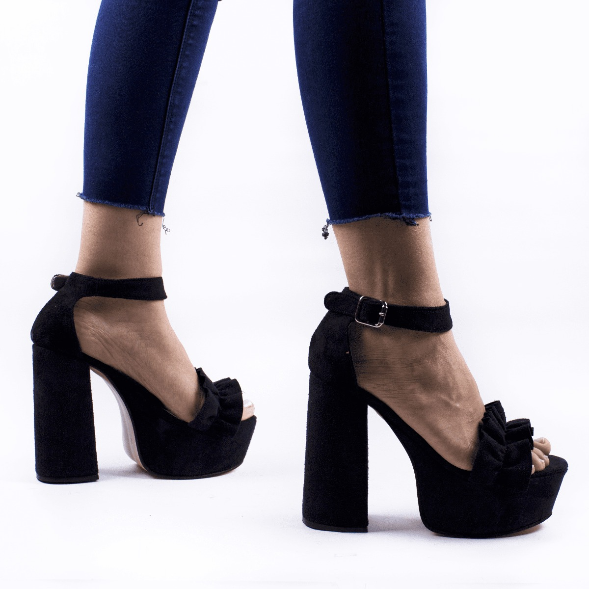 6cb71bce180 zapato sandalia mujer fiesta taco alto plataforma gamuza. Cargando zoom... zapato  sandalia mujer. Cargando zoom.