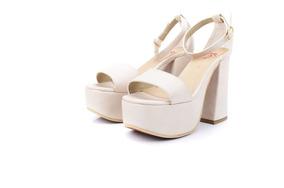 Lauretta Sandalia Plataforma Taco Mujer Palo Zapato 8wOPn0k