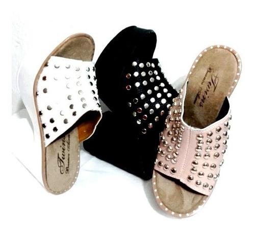 zapato sandalia taco alto calzado plataforma comoda y liviana mujer fiorcalzados