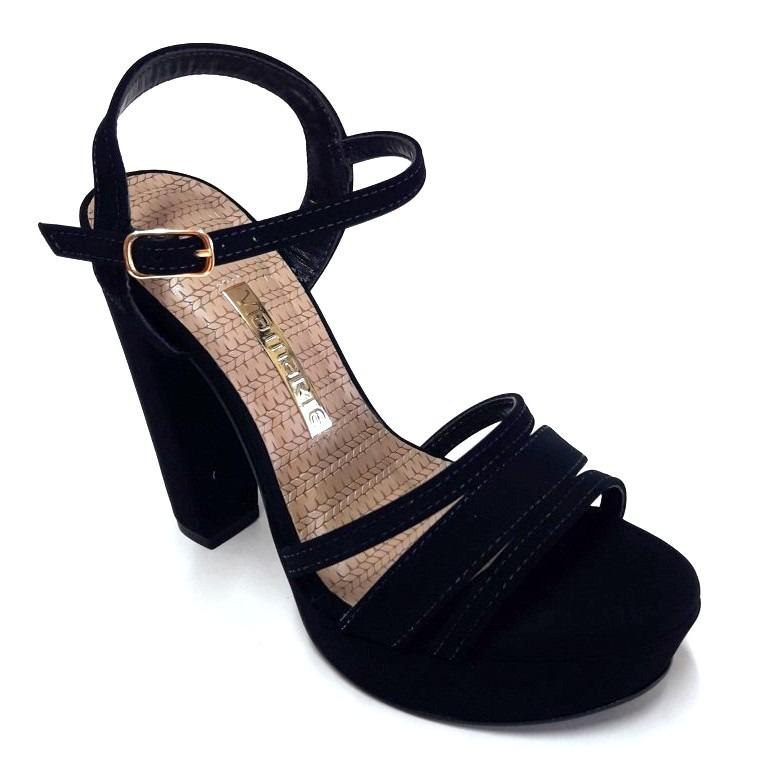 9995be66 Zapato Sandalia Taco Palo Mujer Via Marte - $ 1.500,00 en Mercado Libre
