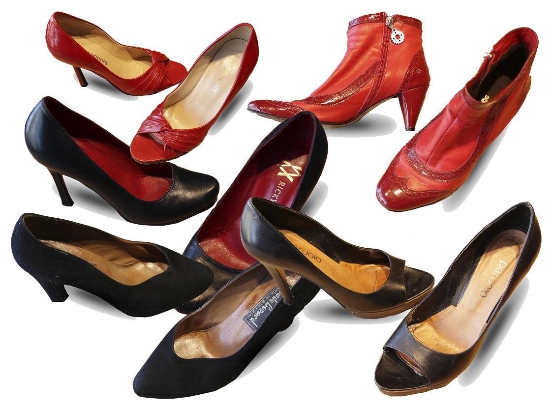 7f6a45c74f3 Zapato sarkany paruolo stilettos negro mujer feria americana cargando zoom  jpg 1122x830 Sarkany paruolo charol punta