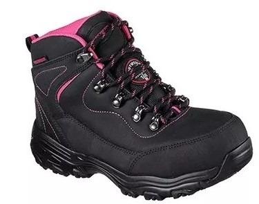 zapatos de seguridad skechers mujer