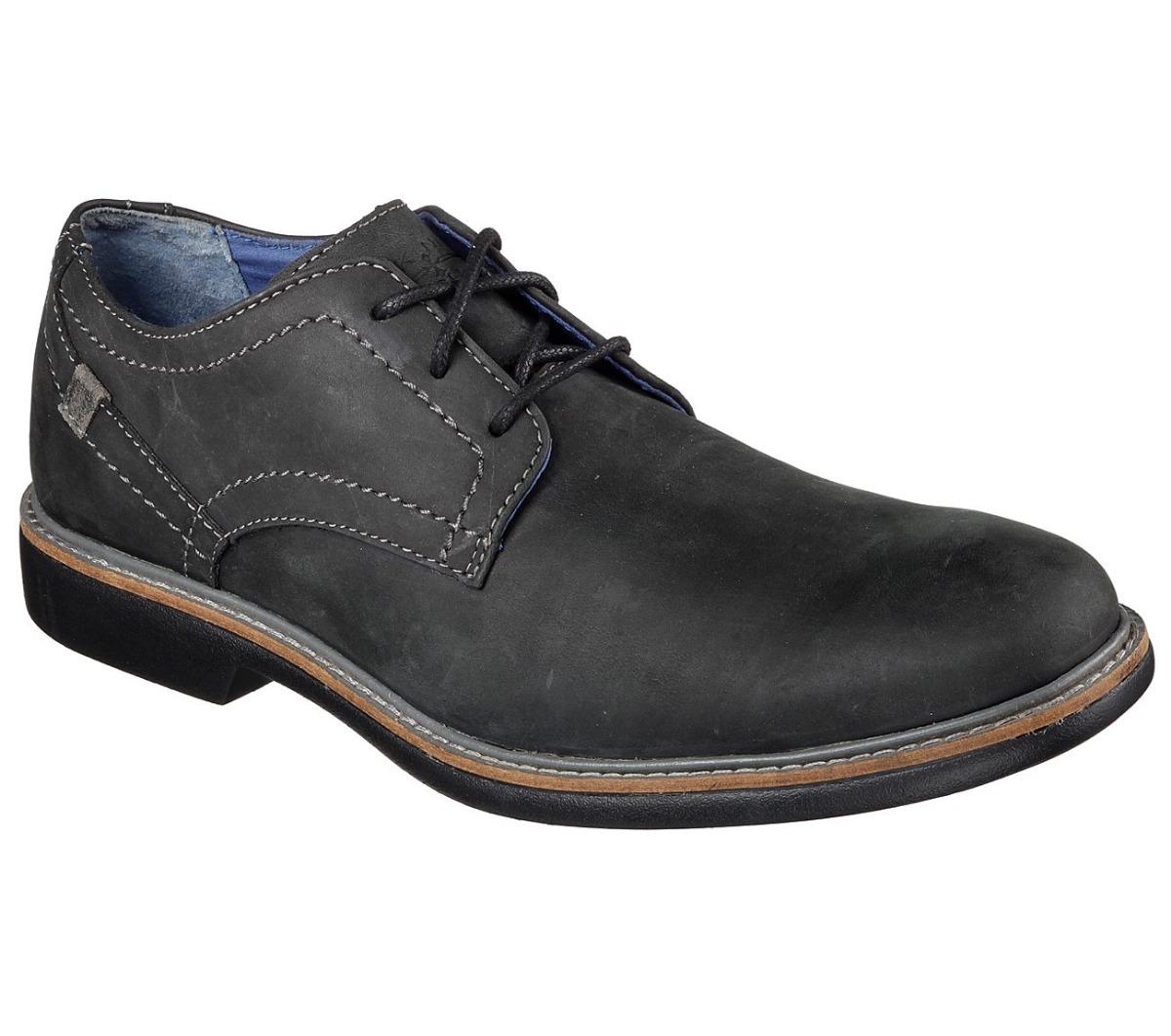 Nason Malling Skechers Zapato Hombre Mark Black rBoeCxd