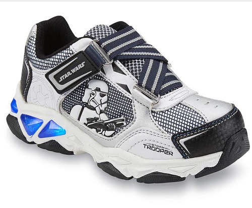 zapato star wars stormtrooper vader bb8 con luces