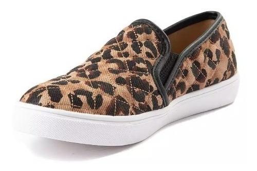 Zapato Steve Madden Mod  131673 Ecentrcq Leopardo Mujer / J