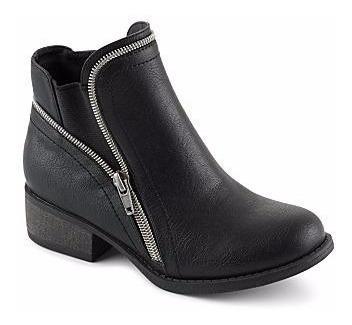 zapato steve madden negro, talla 34.5