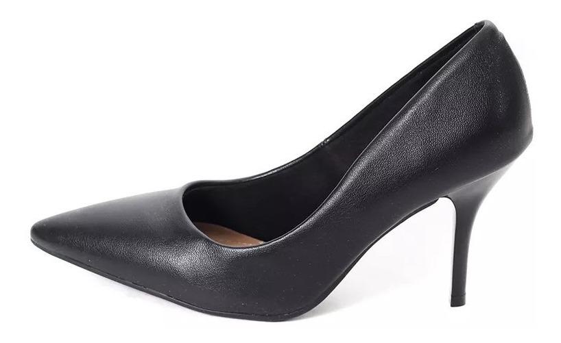 d8b496ae zapato stiletto clasico 4122 cuero taco fino mujer beira rio. Cargando zoom.