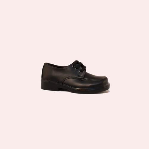 zapato stilo zapato cordon punta cuadrada - 283-134-negro