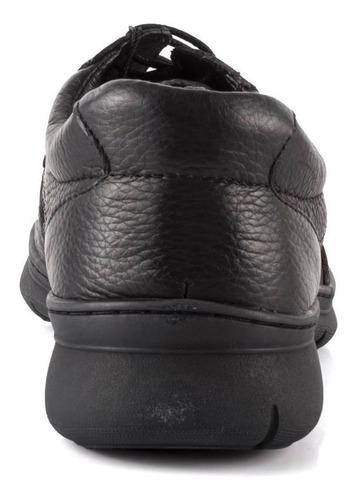 zapato stork man carmelo negro