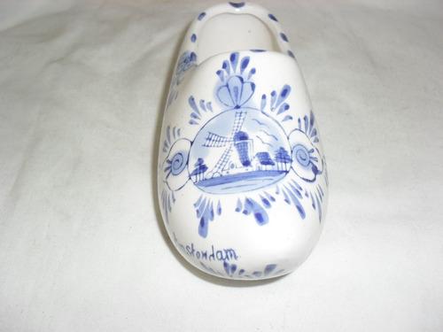 zapato sueco en cerámica holandesa