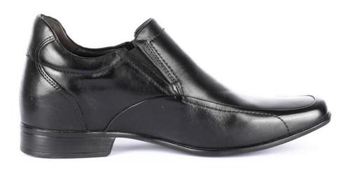 zapato tabaco negro +7cms