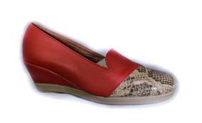 De Talle Solo100 36 Zapatos Rojos Chino A Taco Zara CxeBodWr