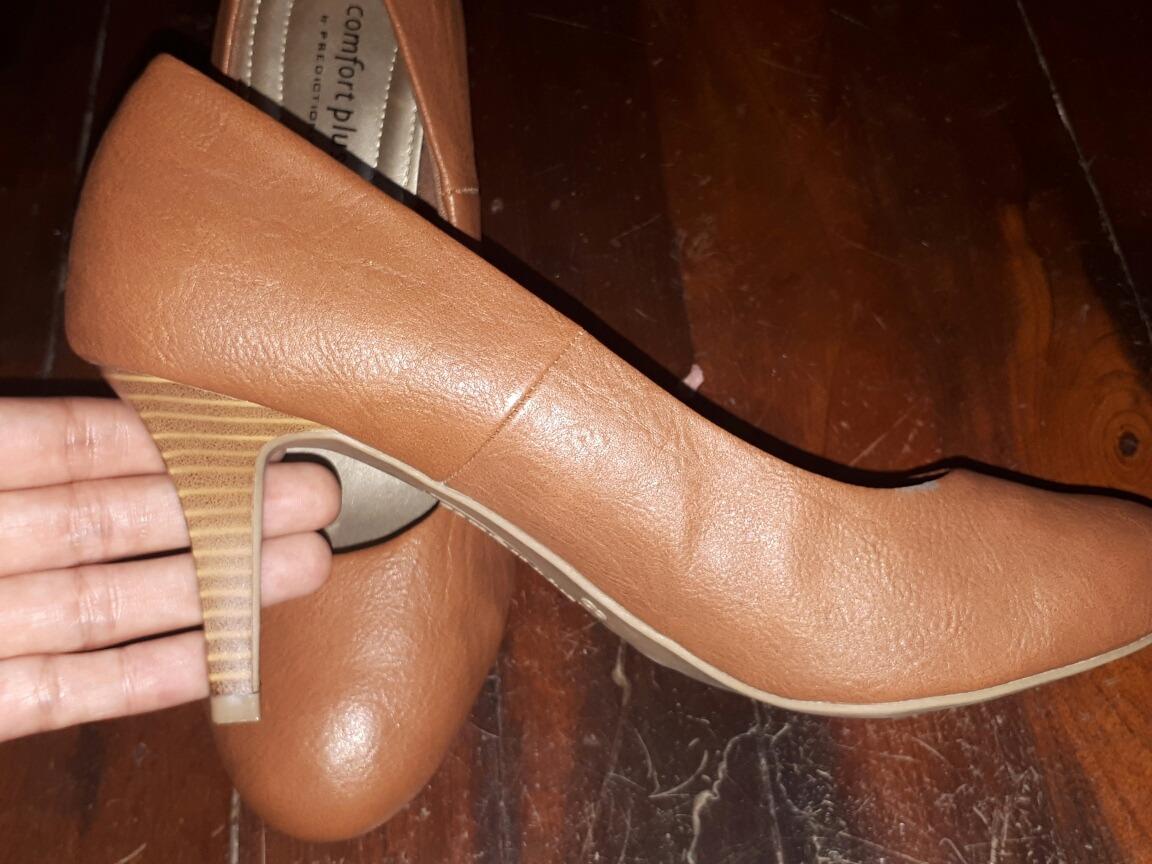 07cb79a4 En Libre 00 Nude Bajo 500 Bs Zapato Talla Mercado 38 Tacón Marrón W4ATwnxqzU