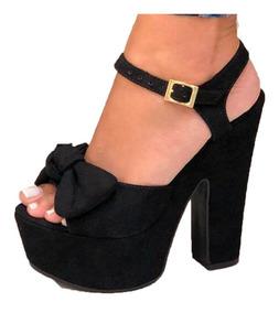 Zapato Hermoso Plataforma Tacon Dama Sandalia Chancla Moda OiuPXZTk