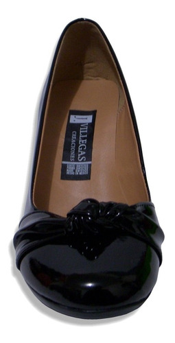 zapato tacon puente 6cm nudo comodo durable j villegas