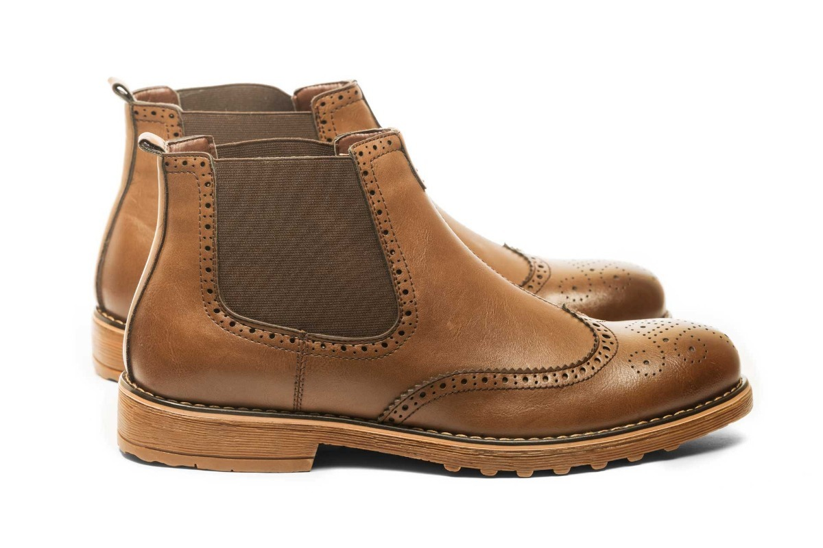 Zapato Tender Chelsea Café Claro Mosaik ajsLkHM