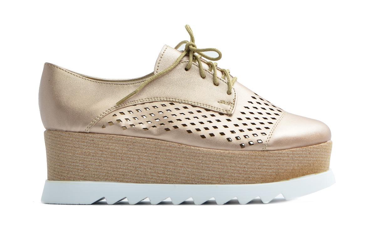 023e0565ecf7f Zapato Tenis Casual De Vestir Mujer Elegante