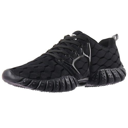 zapato tenis deportivo ligero negro marca aleader talla 39