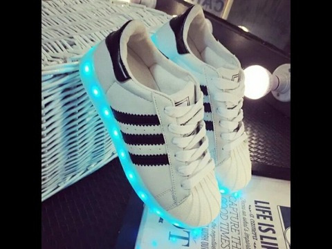 zapato tenis led - reparación y fabricación