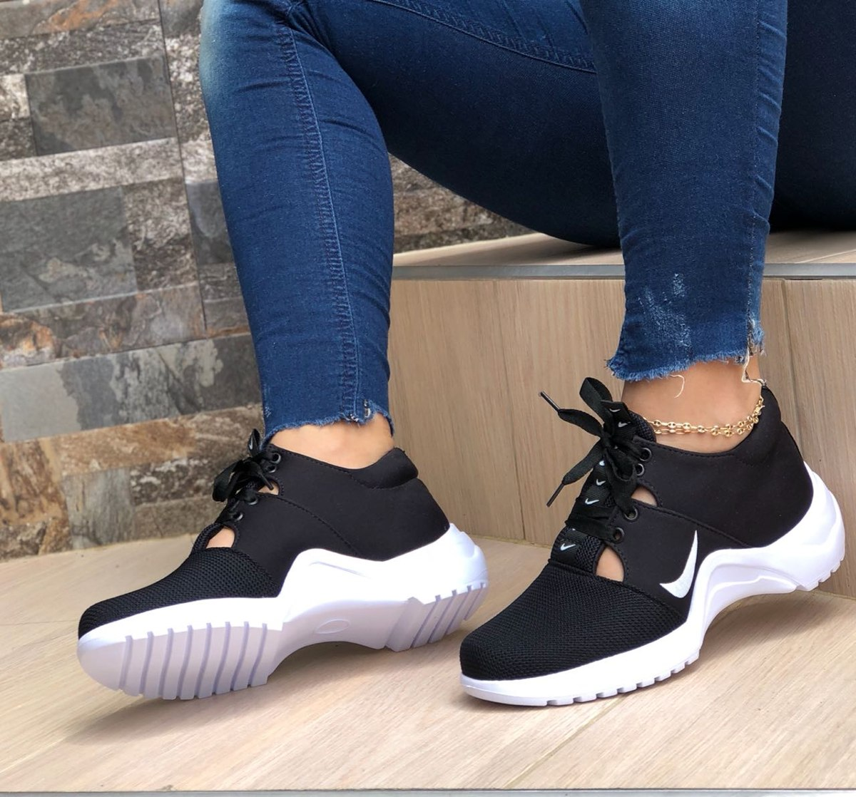 03848010596fb Zapato Tenis Tipo Bota Para Dama Bl Envio Gratis -   85.000 en ...