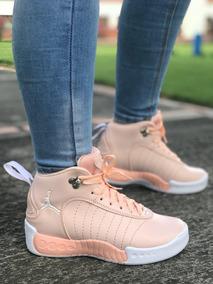 nuevo concepto ddfec 93d48 Zapato Tennis Botas Jordan Para Dama