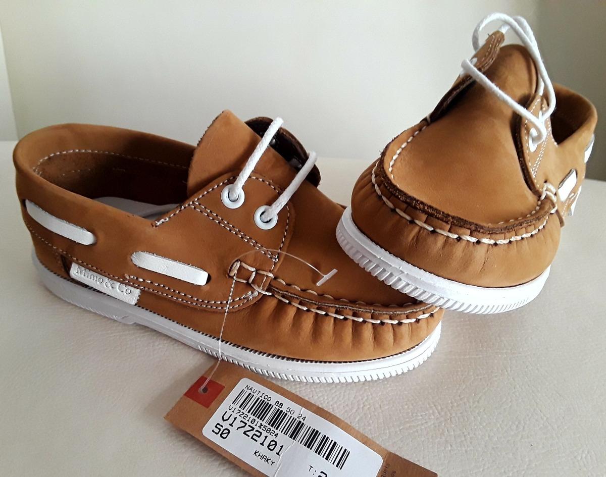 6f5bdd2298a Zapato Tipo Nautico Niños Talle 24 Sin Uso C  Etiquetas -   990