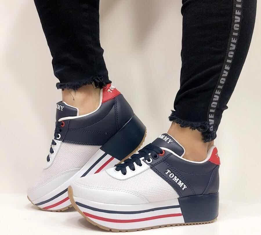 precio de fábrica buena calidad lindos zapatos Zapato Plataforma Tommy Mujer - Dama