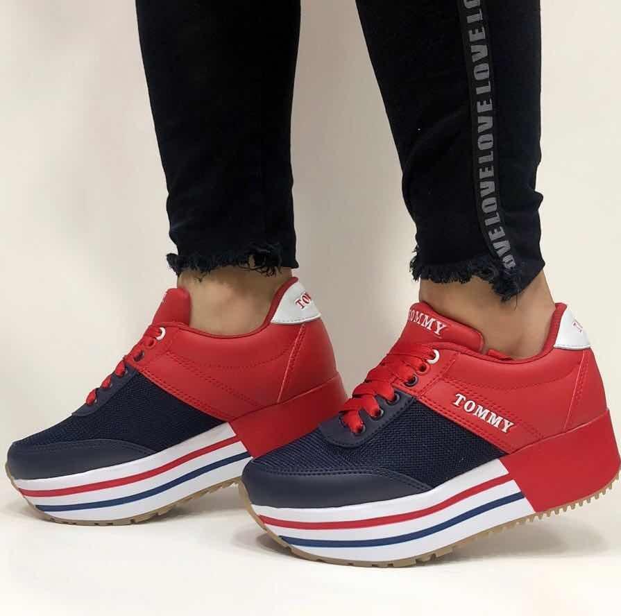 ahorrar e366e 60037 Zapato Plataforma Tommy Mujer - Dama
