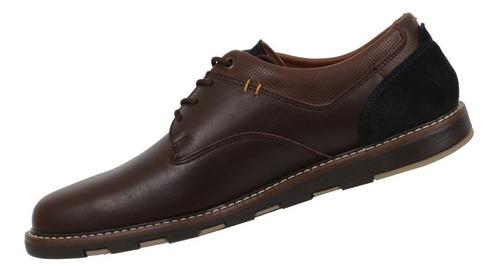zapato triples de piel color café mod. mael