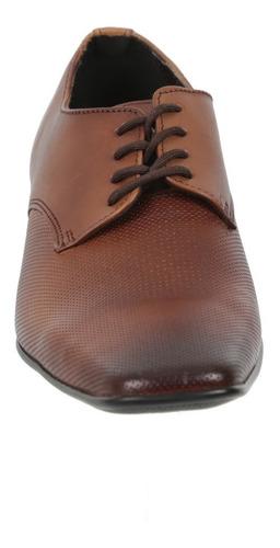 zapato triples de piel color miel mod. fausto