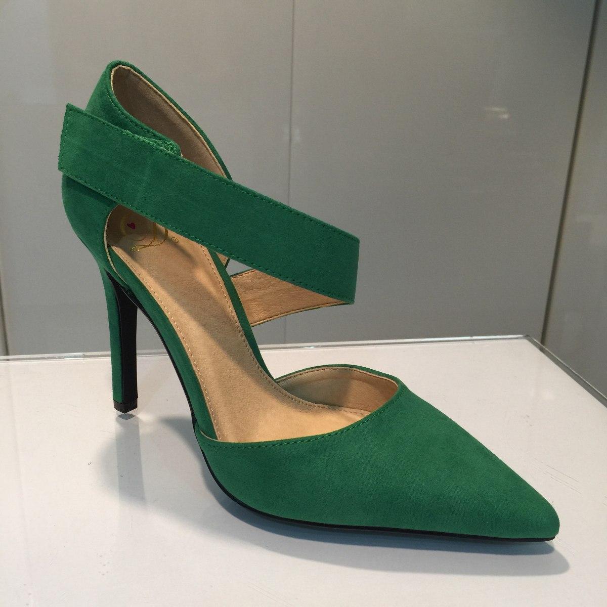 Zapatos verdes para mujer ilK7vao