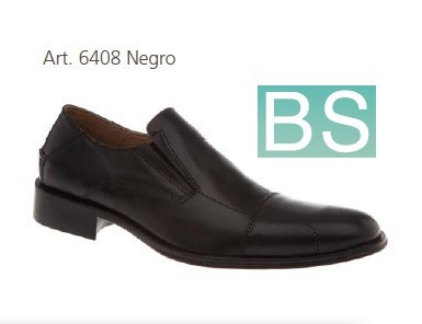 zapato vestir cuero bs 6408 nuevo - somos representantes