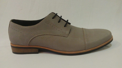 zapato vestir cuero hombre art 1015 . marca messina