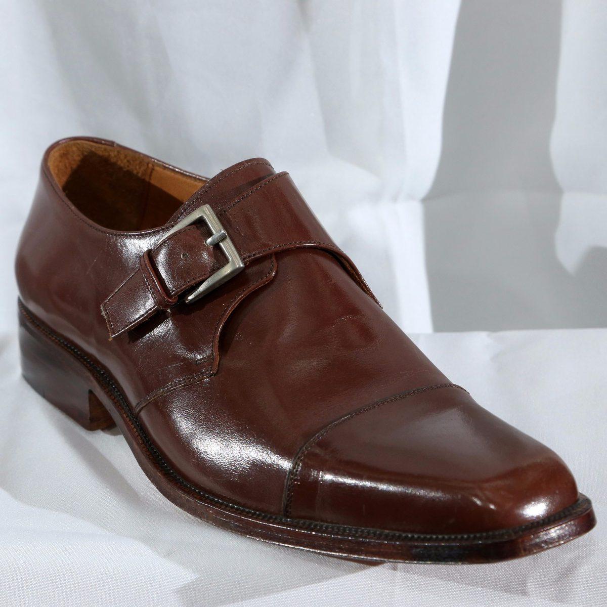 39b61578 Zapato Vestir Hombre Cuero Marrón - Talle 41 Y 42 Solamente ...