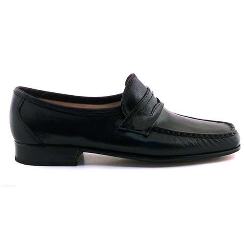 zapato vestir hombre mocasín cuero briganti suela hcmo01239
