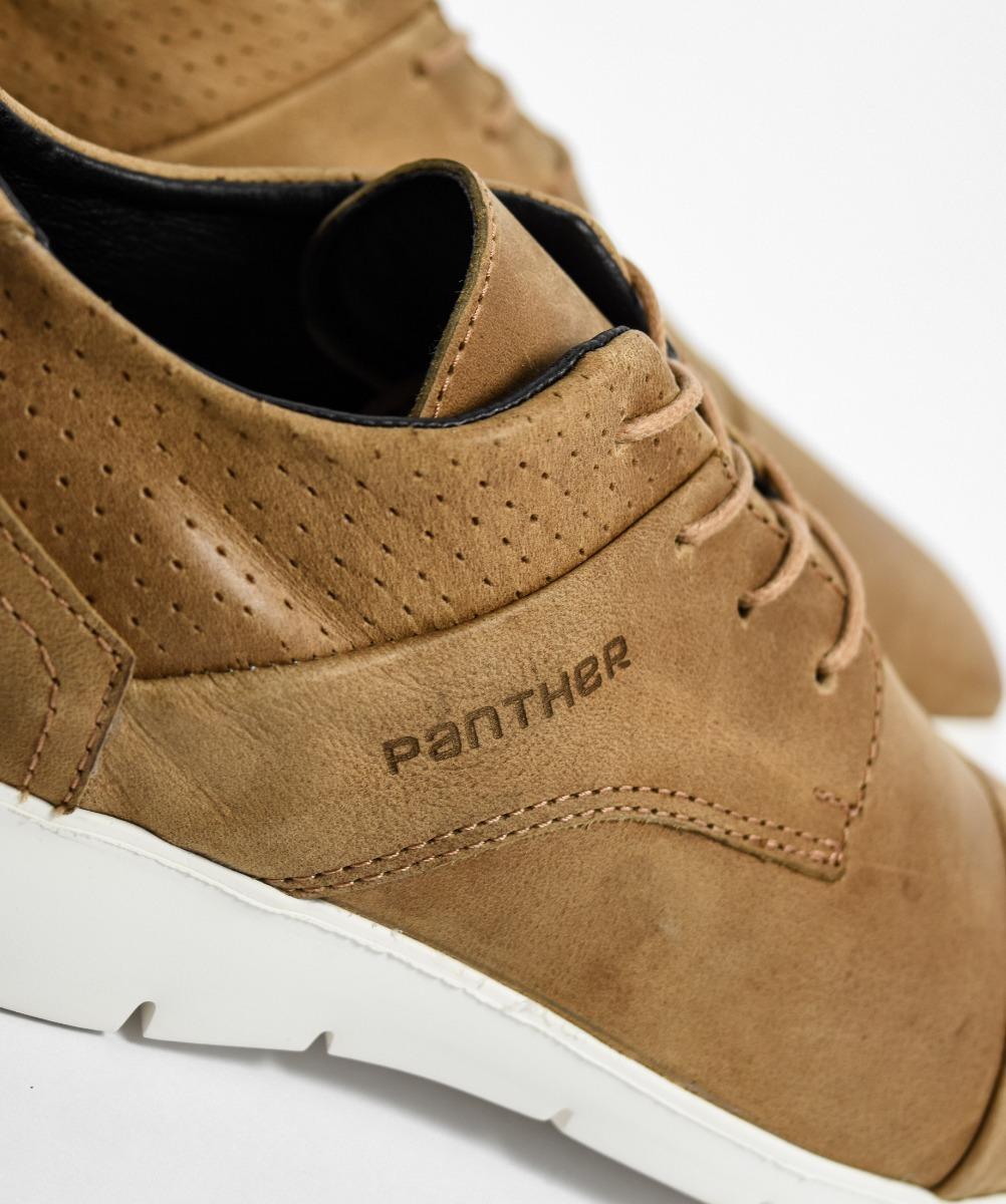 2442163185a zapato vestir panther suela blanca calzado urbano cuero 9805. Cargando zoom.