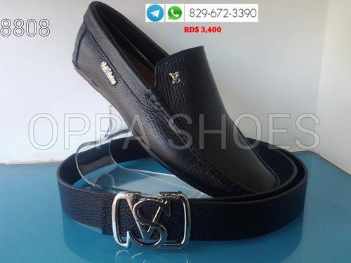 zapato violi salvatory color negro