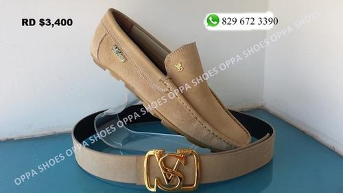 zapato violi salvatory gamuza