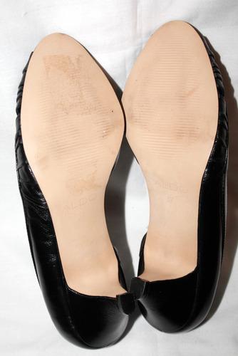 zapato zapatilla aldo negros formales  no 4 o 24 nuevos