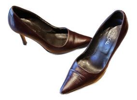 Stiletto Zapato Zapatos Feria Vercal Barata Marron Americana xQdrsCthB