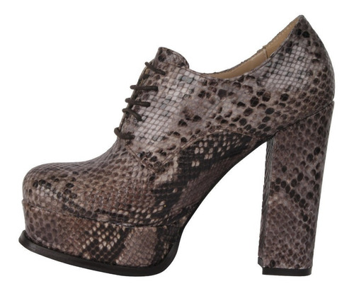 zapato zappa mujer camel - r335