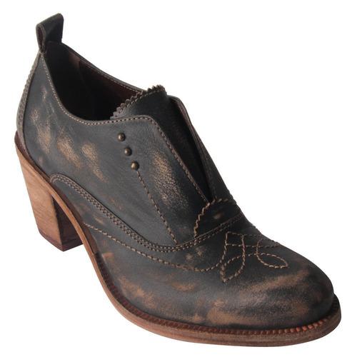 zapato zappa mujer negro - x433