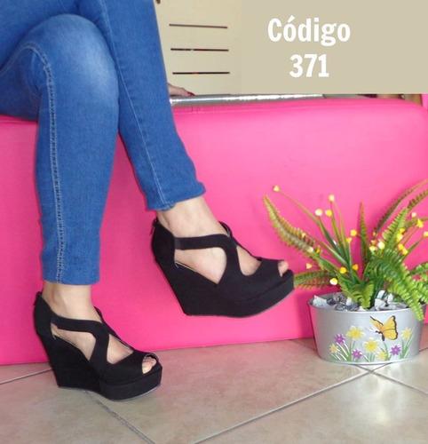 zapato/plataforma tacón #10
