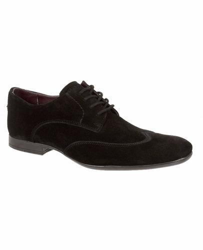 zapatos 08652 oxford est bostoneanos piel negro