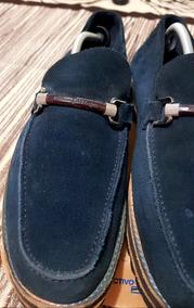 01f6bf0c1d Zapatos 29 Ermenegildo Zegna De Gamuza Azules. Modificados