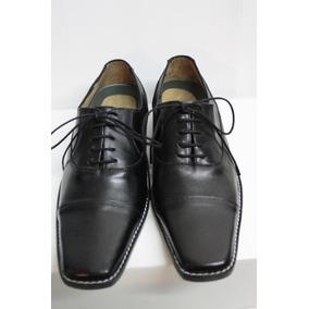 41136d9d Zapato Punta Italiana Cuero - Zapatos Negro en Mercado Libre Argentina