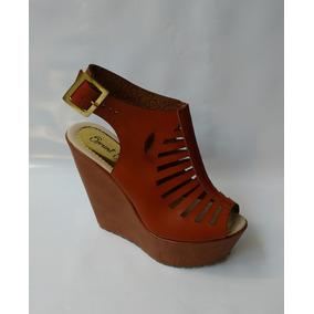 35fd7a8349aeb Sandalias De Pltafora Color Miel - Zapatos en Mercado Libre Colombia
